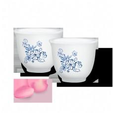 酒杯实物中式陶瓷酒具中国风图案