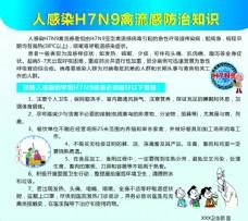 人感染H7N9禽流感防治知识
