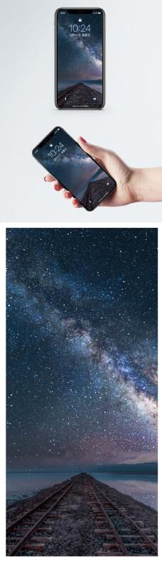 星空轨道手机壁纸