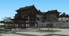 中式独栋大院