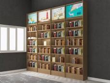创意书店七层书架