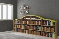 创意四层休闲书架