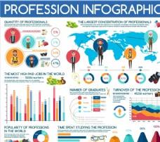 职场人物信息图表