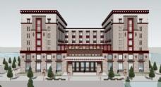 藏式风格酒店