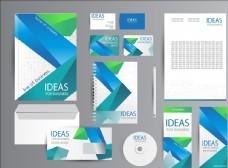 几何抽象线条创意企业视觉VI