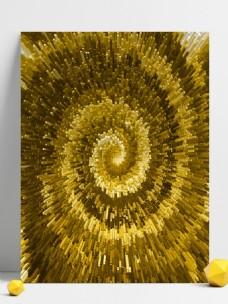 金色柱状放射背景素材