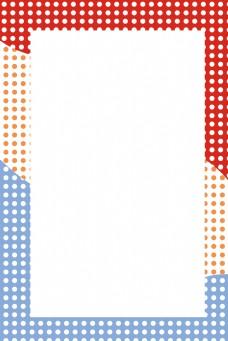 波普风波点几何图形海报背景
