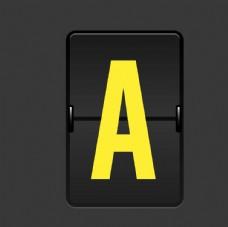 矢量英文字母