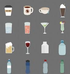 饮品杯子图标