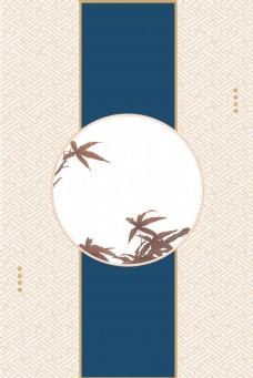 复古传统经典韩国新年卡