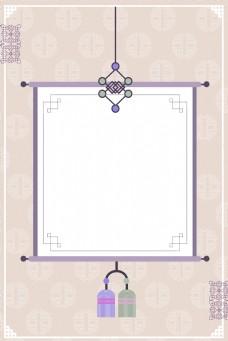 韩国传统经典图案挂轴