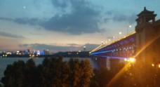 武汉长江大桥江景