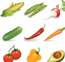 蔬菜免抠素材