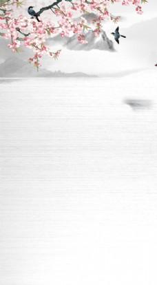 中国风背景 海报