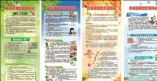 春夏秋冬健康教育宣传栏