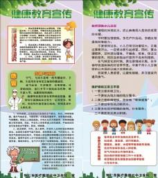 健康教育宣传栏展架