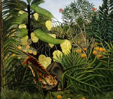 亨利卢梭 高清油画作品集