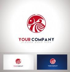 鱼logo设计火锅