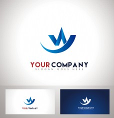 WY字母logo