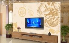 软包电视 背景墙