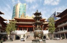 上海静安寺大雄宝殿