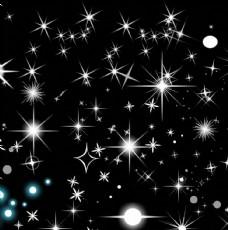 闪亮星星素材