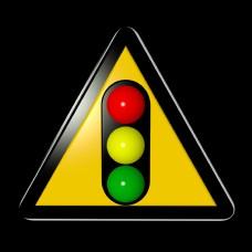 交通安全类标识红绿灯立体C4D路标