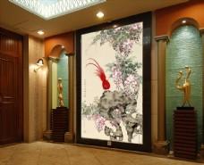 背景墙装饰画