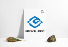 互联网企业公司大气科技行业LOGO设计