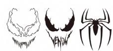 蜘蛛侠 毒液 标志