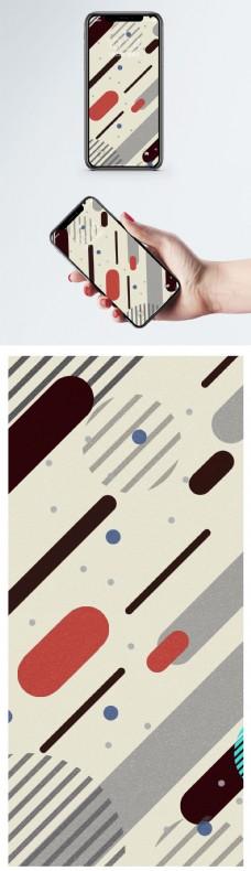 线条背景手机壁纸