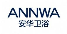 安华卫浴logo