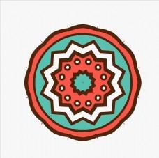 传统边框花纹 古典花纹 圆形装