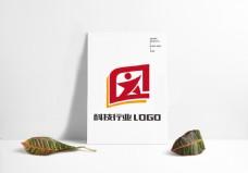科技公司互联网企业网络行业LOGO设计