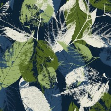 树叶无缝图