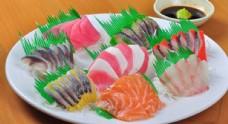 新鲜的生鱼片