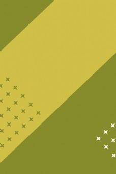 绿色运动简单星星背景图片