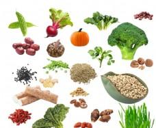 蔬菜谷物抠图