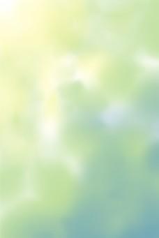 清新绿色黄色烟雾唯美梦幻风格图