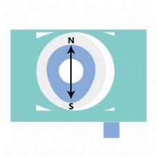 卡通眼睛定位图标