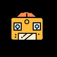 黄色相机网页符号设计