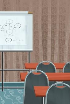 灰色创意课堂讲解元素