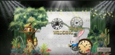 六七绿色森系婚礼效果图