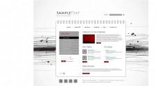 网页模板设计
