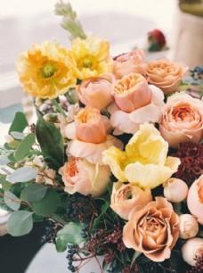 客厅花花店花