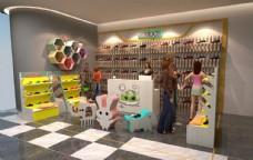 中岛服装店设计图