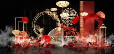 五四中式婚礼效果图