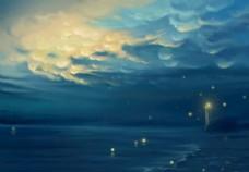 海边的灯塔