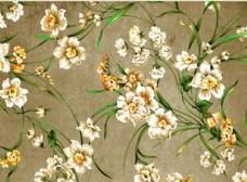 手绘怀旧花