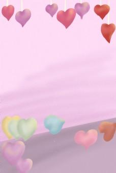 妇女节粉色背景下载